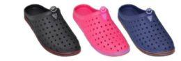 30 Units of WOMEN'S ASSORTED COLOR CLOGS - Women's Flip Flops