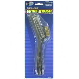 72 Units of Deluxe wire brush set - Wires