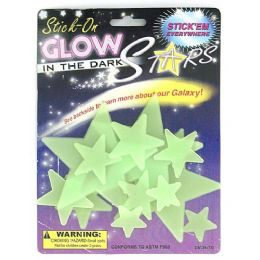 72 Units of Glow in the dark stars - Glow In The Dark Items