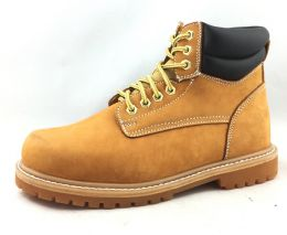 12 Units of Men's Genuine Leather Boots Sizes 4-12 Open Stock - Men's Work Boots
