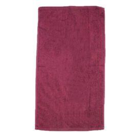 60 Units of Beach Towel In Maroon - Beach Towels