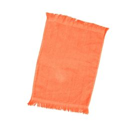 240 Units of Fingertip Towel Fringed Ends In Orange - Towels