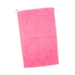 144 Units of Velour Hemmed Hand / Golf Towel Corner Grommeted And Hook - Towels