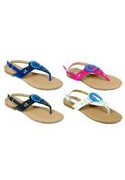 48 Units of Girls Fashion Sandals - Girls Sandals