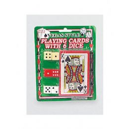 72 Units of Vegas Style Playing Card With Dice - Playing Cards, Dice & Poker