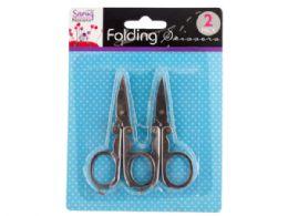 72 Units of Folding Scissors - Scissors