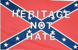 24 Units of Rebel Confederate Flag Heritage not Hate - Flag
