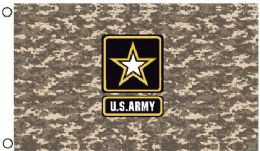 24 Units of Licensed US Army Digital Camo Flags - Flag