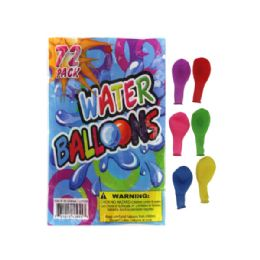 72 Units of 72 Pack Water Balloons - Water Balloons