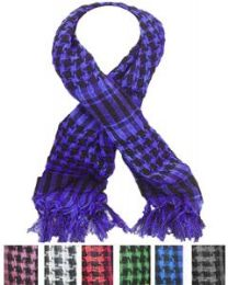 72 Units of Middle Eastern Assorted Color Scarves - Womens Fashion Scarves