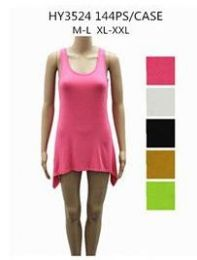 48 Units of Womens Fashion Short Summer Dress Assorted Sizes And Colors - Womens Sundresses & Fashion