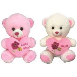 "12 Units of 16"" Bear with/heart - Mothers Day"