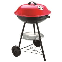 4 Units of Round Grill With Lid - BBQ supplies