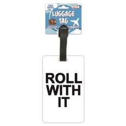144 Units of Luggage Tag Roll With it - Travel & Luggage Items