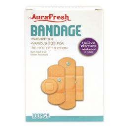 96 Units of 100 Count bandage - Bandages and Support Wraps