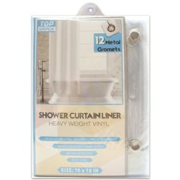 48 Units of Shower Curtain Clear - Shower Curtain