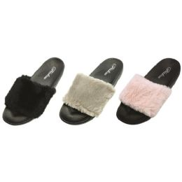 36 Units of Womans Stylish Slip On Slippers - Women's Slippers