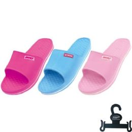 36 Units of Lady's Sport slippers Sizes 6-11 - Women's Sandals