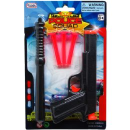 72 Units of Toy Gun With Soft Darts And Access In Blister Card - Toy Weapons