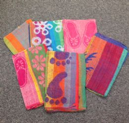 12 Units of Jacquard Beach Towel - Beach Towels