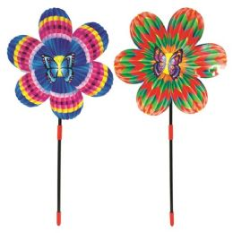 "48 Units of 20"" Windmill Butterfly - Wind Spinners"