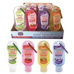 48 Units of Hand sanitizer clip 1.8oz - Hand Sanitizer