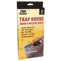 48 Units of 2 Pack Jumbo Mouse Glue Trap - Pest Control