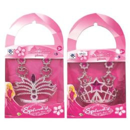 96 Units of Princess Tiara Kit - Girls Toys