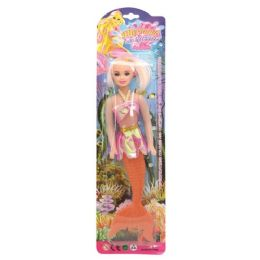 96 Units of Toy Mermaid Doll - Dolls