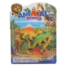 96 Units of Dinosaur Toy In The Bag - Animals & Reptiles