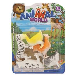96 Units of Toy Farm Animal Set - Animals & Reptiles