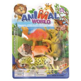 96 Units of Jungle Animal Set - Animals & Reptiles
