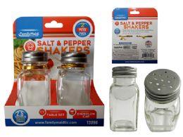 48 Units of 2 Piece Salt & Pepper Shakers - Kitchen Gadgets & Tools
