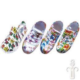 36 Units of Kids Garden Shoes - Girls Footwear