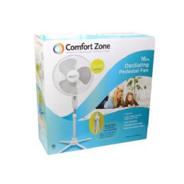 "4 Units of 16"" White floor stand fan - Electric Fans"