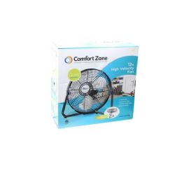 "3 Units of 12"" Black high velocity fan - Electric Fans"