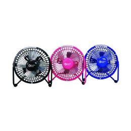 "12 Units of 4"" Desktop Fan 110v Plus Usb - Electric Fans"
