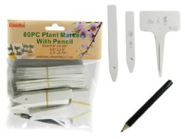 96 Units of 8pc Plant Markers With Pencil - Garden Cleanup Aids