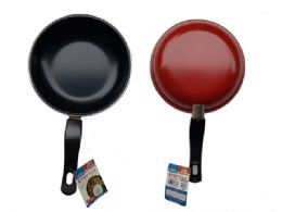 """24 Units of 8"""" Diameter Frying Pan With 5.5"""" L Handle - Baking Supplies"""