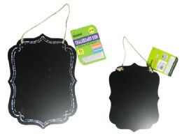 96 Units of Hanging Chalkboard Sign - Chalk,Chalkboards,Crayons