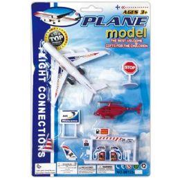 96 Units of Airplane Model Set - Cars, Planes, Trains & Bikes