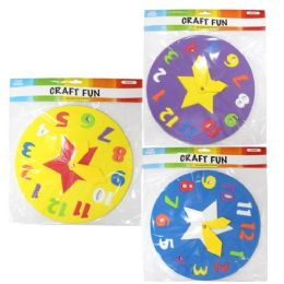 96 Units of Eva Foam Clock - Puzzles