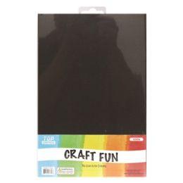 96 Units of Eva Craft Fun Sheets In Black - Scrapbook Supplies