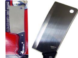 96 Units of Multipurpose Cleaver Knife - Kitchen Knives