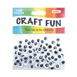 144 Units of Wiggle craft eye Eighty Count - Craft Kits