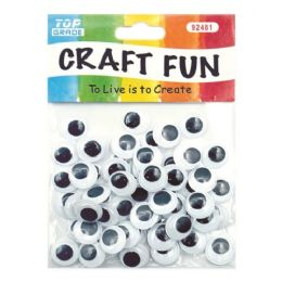 144 Units of Wiggle Craft Eye - Craft Beads
