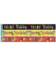96 Units of Birthday Banner Twelve Feet - Party Banners