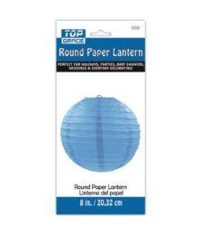 96 Units of Paper Lantern Nine Inch Blue - Party Center Pieces