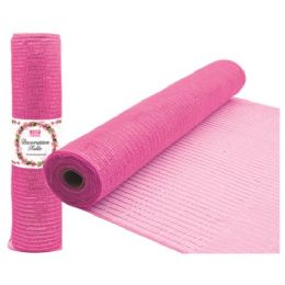 96 Units of Tulle fabric roll baby pink - Sewing Supplies