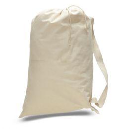 72 Units of Medium 12 Ounce Laundry BaG-Natural - Tote Bags & Slings